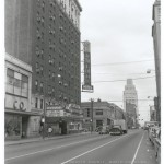 A street view of the Carolina Theater and Hotel. Courtesy of Scott Spencer.