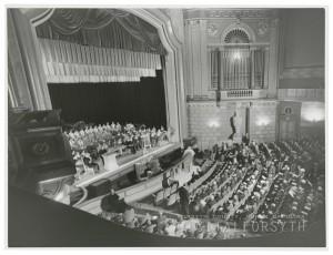The original Carolina Theater interior. Courtesy Scott Spencer.