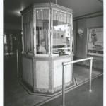 The original Carolina Theater ticket booth. Courtesy of Scott Spencer.