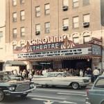 Color image of the Carolina Theater circa 1966. Courtesy of Scott Spencer.