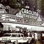 The Carolina Theatre at night. Courtesy of Scott Spencer.