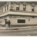 The Morris Service Restaurant in 1964. Courtesy of Scott Spencer.