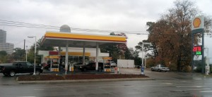Gary Singh took over a 20-year lease of the Shell Station in April of 2013, but now worries that the Business 40 project will negatively impact his business.