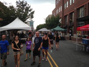 Restaurants such as The Porch and 6th and Vine participated in the festival.