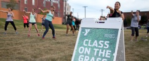 Class on the Grass photo taken by Wake Forest Innovation Quarter