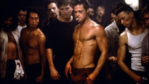 Shot from the movie Fight Clubhttp://www.theverge.com/2015/7/14/8965585/fight-club-rock-opera-david-fincher-trent-reznor