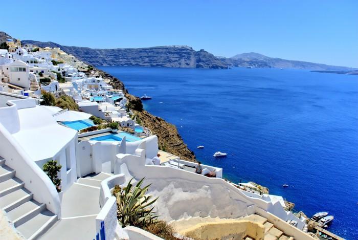 Picture of Santorini Island